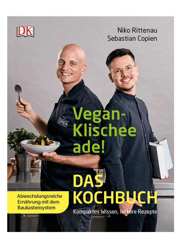 Vegan Klischee ade - das Kochbuch (Cover)