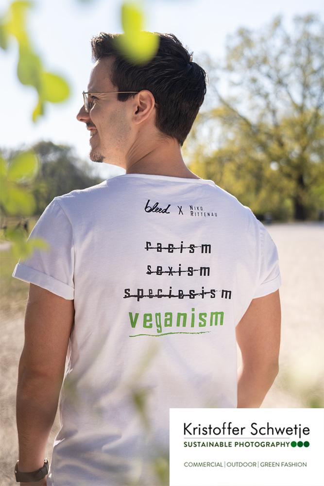 Niko Rittenau vegan-flag T-Shirt